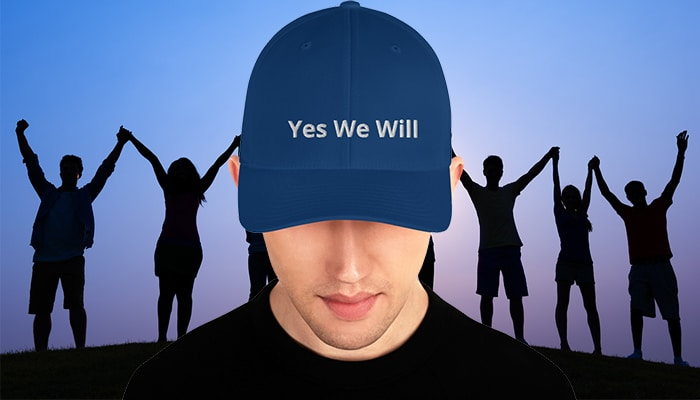Yes We Will Hat