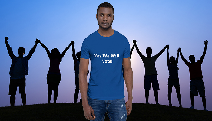 Yes We Will Vote T-Shirt
